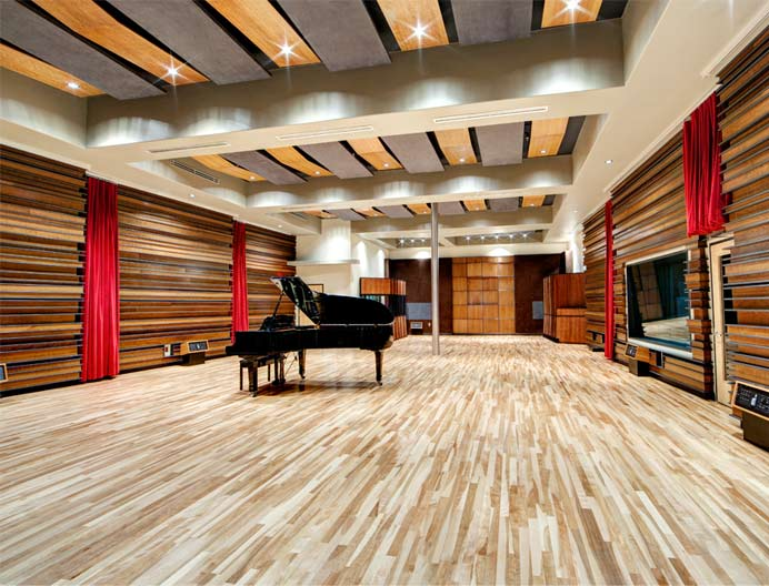 Revolution recording studio a for Recording studio flooring